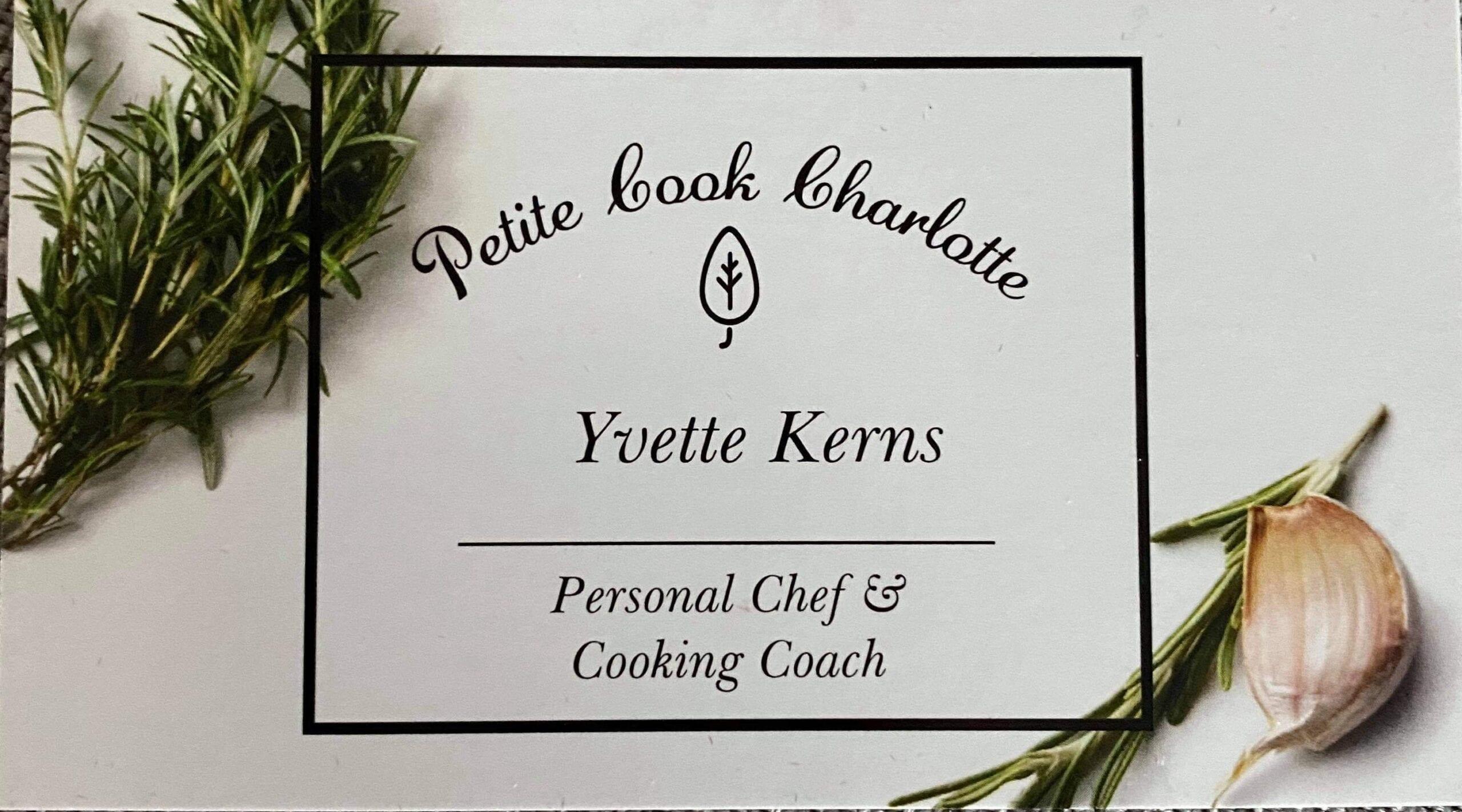 Petite Cook Charlotte